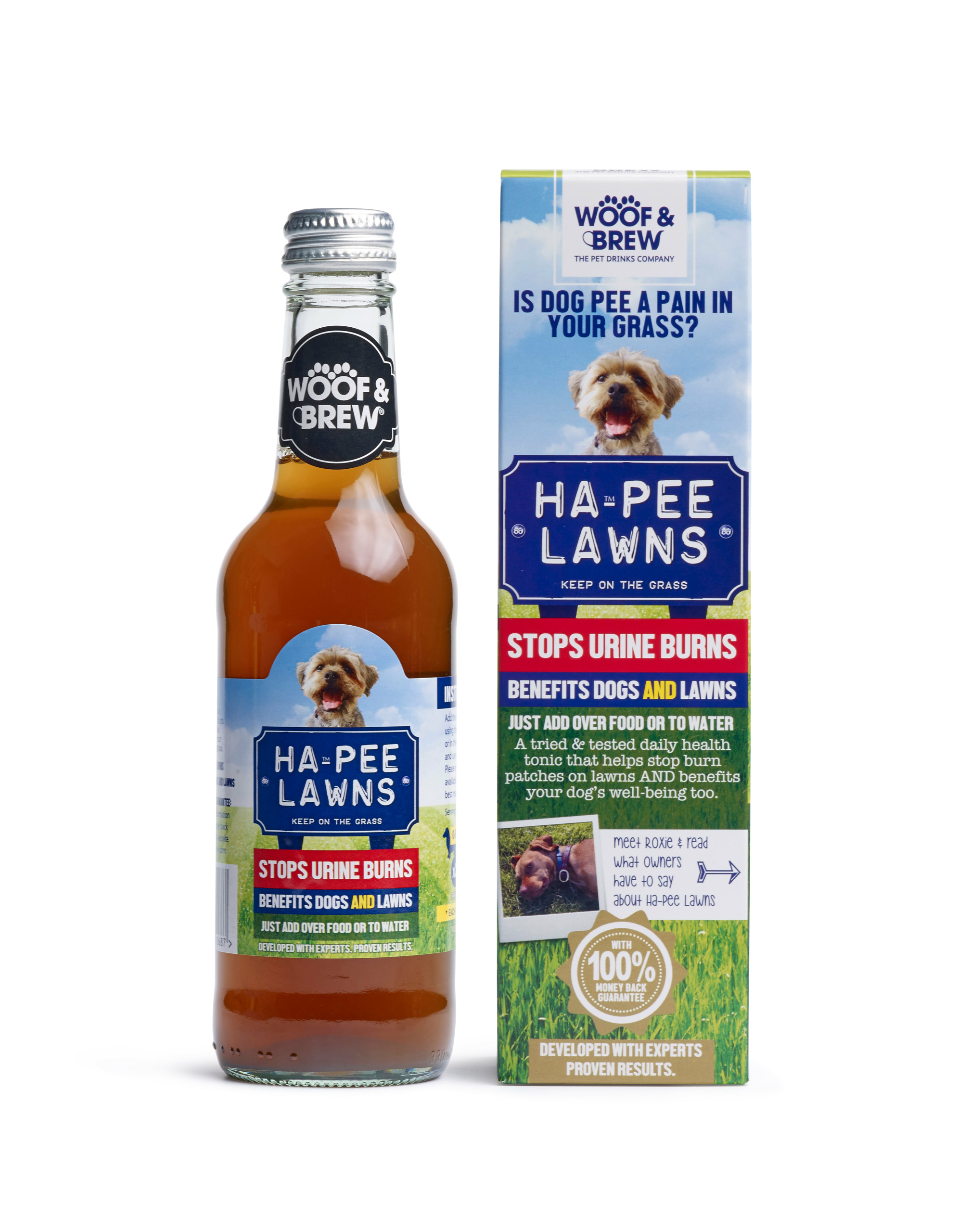 HA-PEE LAWNS - STOP URINE BURNS
